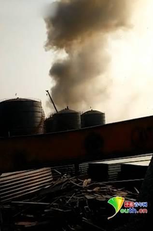 山东枣庄一废旧厂房焊接施工过程中爆炸 致6死4伤