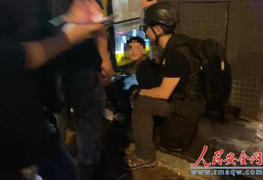 香港12岁男童涉暴力冲突被捕:身携5尺长铁棍,事后称病被送医