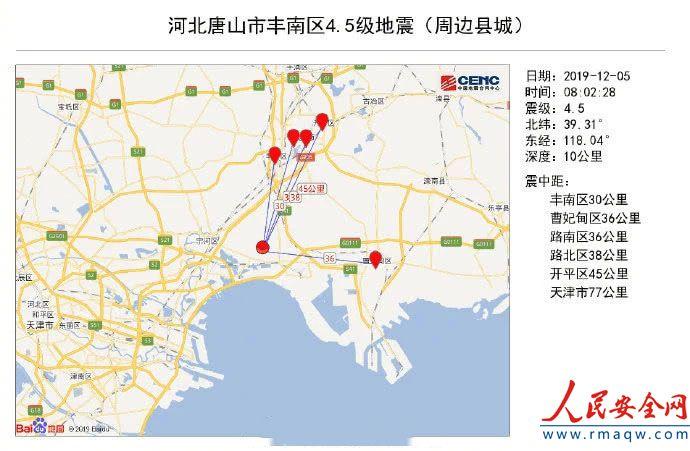唐山4.5级地震属1976年大地震余震 时隔43年为何仍有余震?