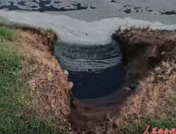 内蒙古四子王旗多车深夜污染河道:已有6人落网,当地正治理水体