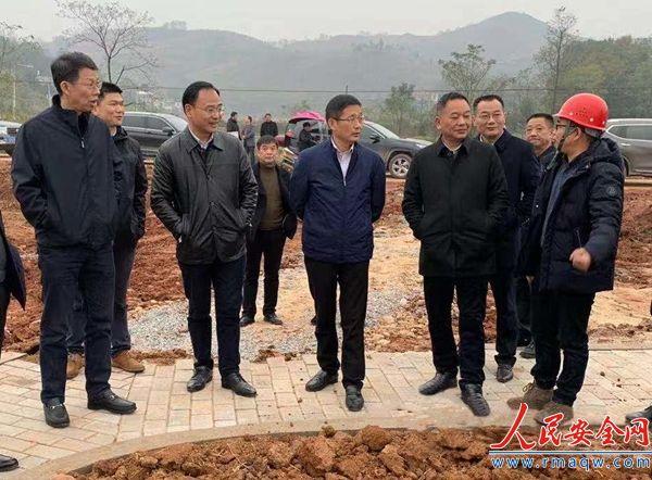 省督导组到常宁调研水口山铅锌煤矿区生态保护修复项目工作情况