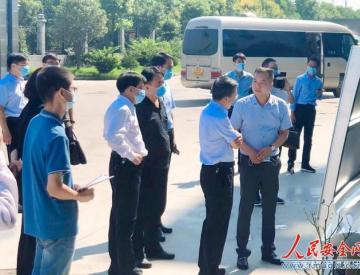 河南省平顶山市委书记张雷明莅临润灵集团调研